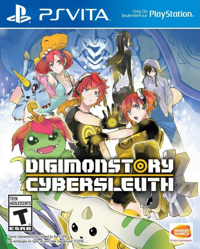 Digimon Cyber Sleuth (USA+1 04 update + DLC) (NoNpDrm) Ps Vita