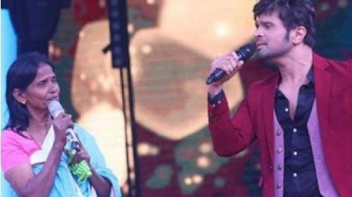 Himesh Reshammiya and Ranu Mandal