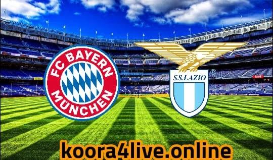 مشاهدة تشكيلة مباراة بايرن ميونخ و لاتسيو ضمن مباريات دوري الأبطال koora4live