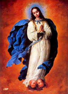 Z15 Francisco de Zurbarán - Inmaculada Concepción 1661 - Eglise Saint Gervais et Saint Protais (Langon)