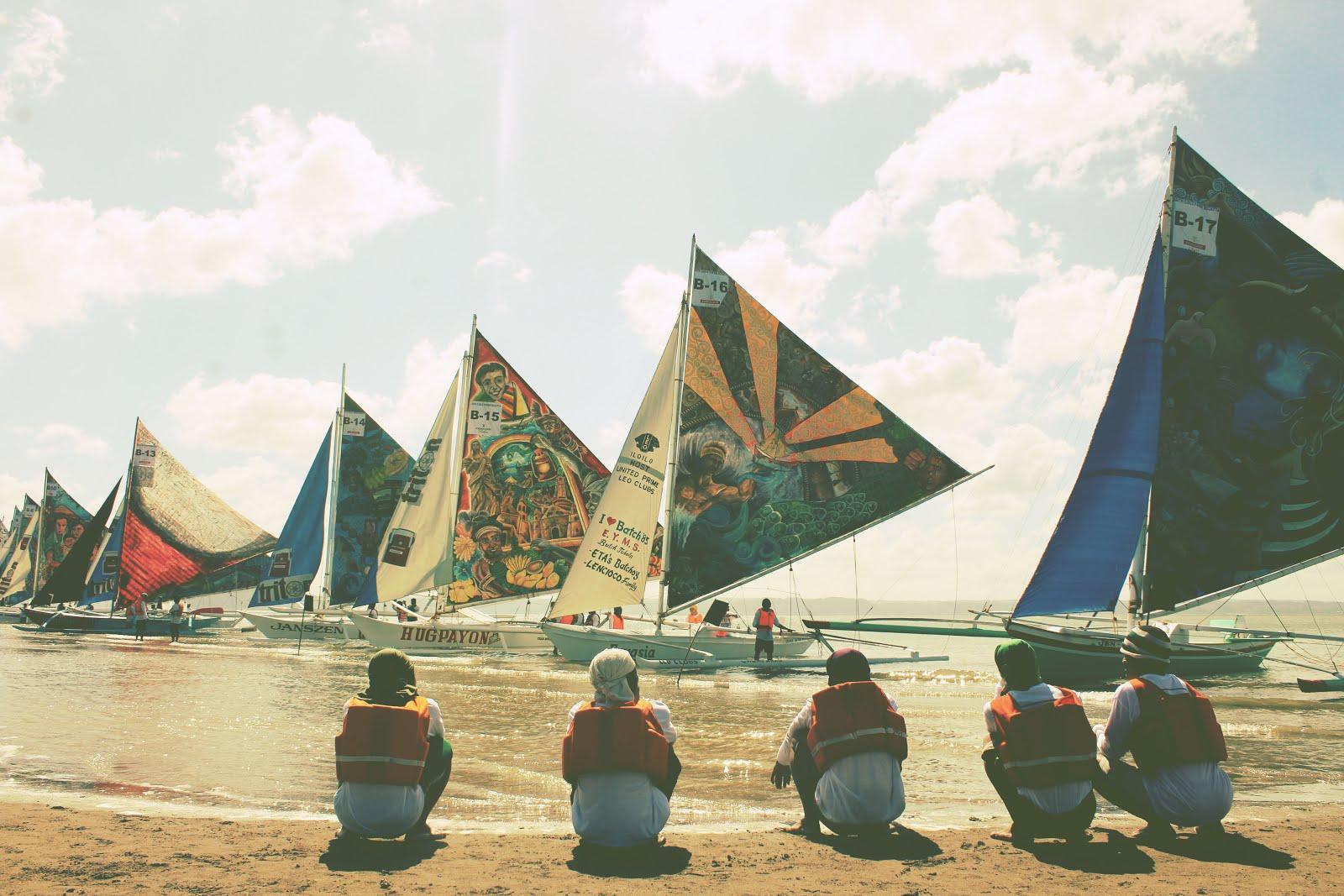 Iloilo Paraw Regatta Festival celebrates its 44th year Art, Creative, Creativity, Culture, Iloilo, Heritage, Ilonggo, Inspiration, Panay, Philippines, Paraw Regatta Festival, Sand, Sun, Sails, Layag, Race, Paraw