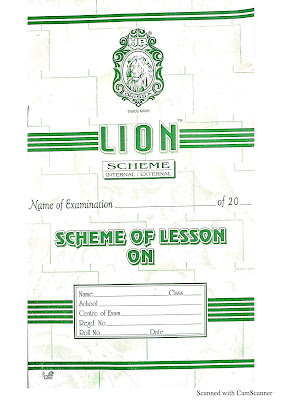 Scheme of lesson plan