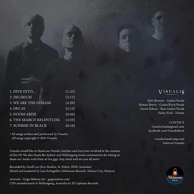 """Visualis - """"Sunrise in Black"""" (ep)"""