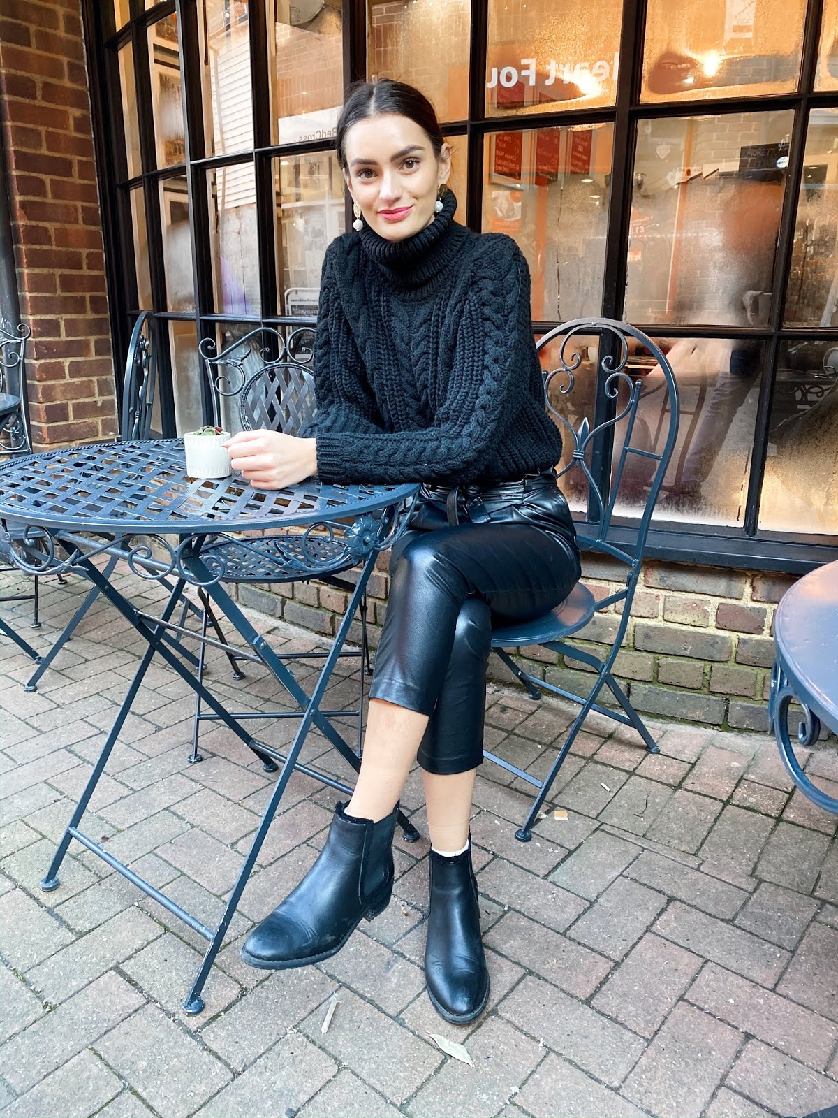 faux-leather-trousers-cable-knit-jumper-all-black