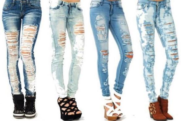 10 Cara Merobek Celana Jeans agar Menjadi Jeans Sobek Keren (Ripped Jeans)