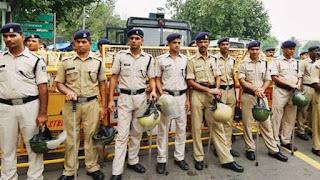 Delhi police syllabus in hindi