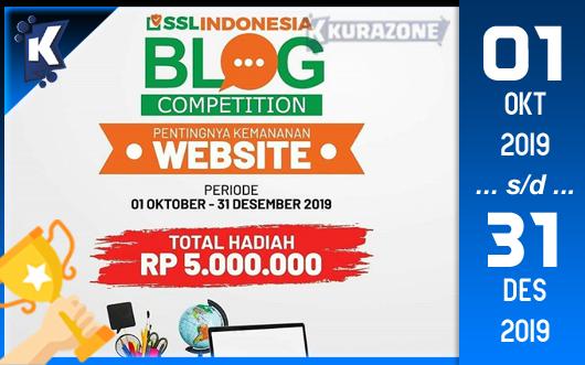 Kompetisi Blog - SSL Indonesia Berhadiah Total Uang Tunai 5 Juta Rupiah