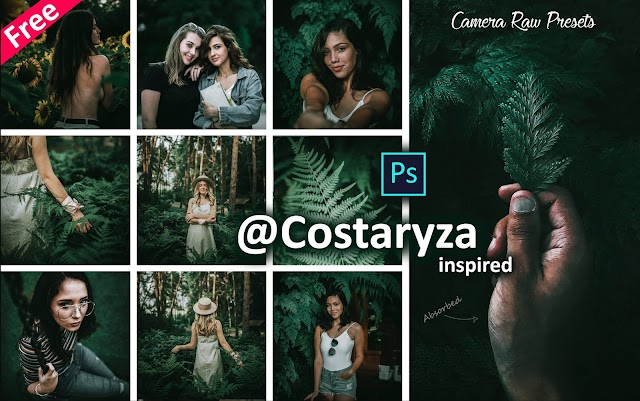 Download Costaryza Inspired Camera Raw Presets for Free | How to Edit Photos Like Costaryza in Photoshop cc