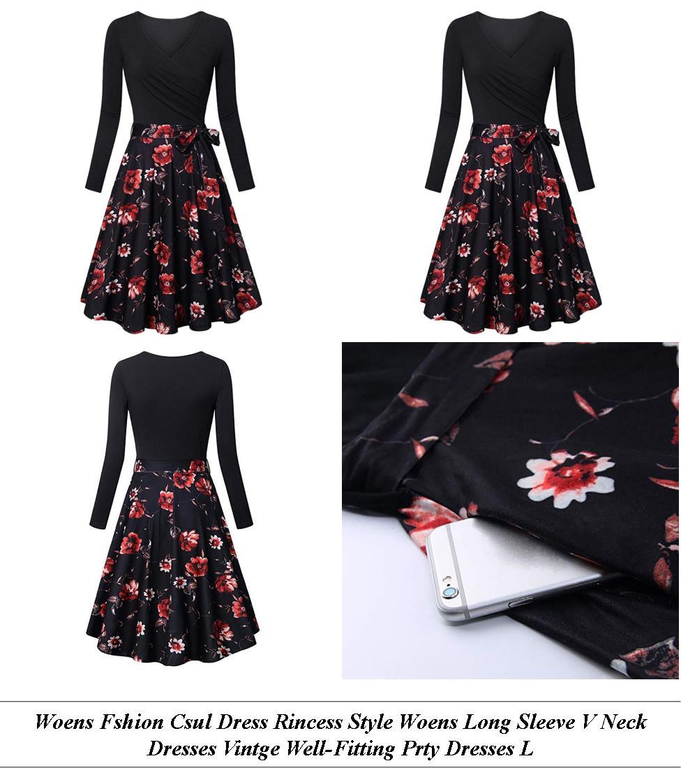 Vintage Dresses - Womens Clothes Sale Clearance - A Line Dress - Cheap Clothes Online Uk