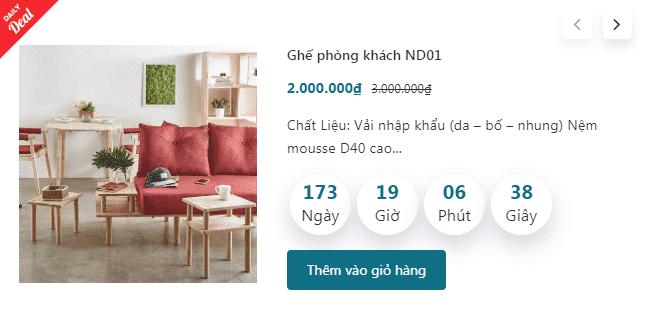 Giao diện blog bán hàng nội thất đẹp chuẩn seo 2020