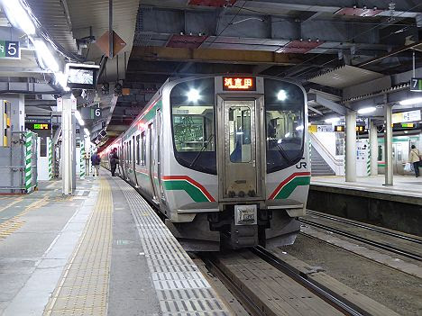 【復興過程で一時的に運行】常磐線 浜吉田行き2 E721系(2016.12廃止)