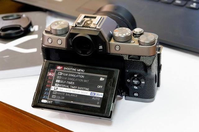 Cara Membuat Video Time-Lapse dengan Kamera Fujifilm X-T100 dan X-A5