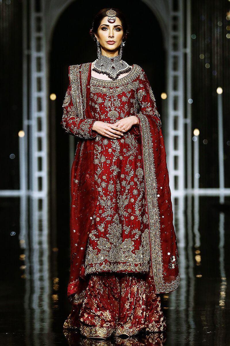 Pakistani bridalwear for barat
