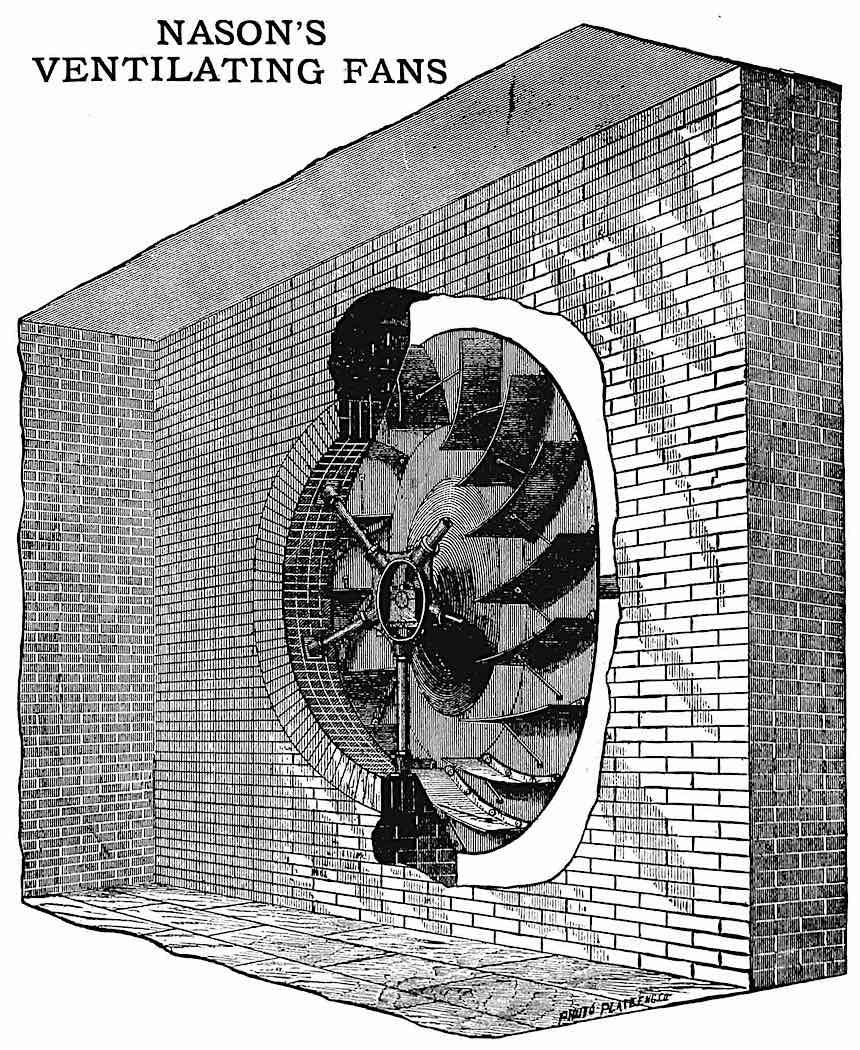 1878 factory ventilation, Nason's Ventilating fans