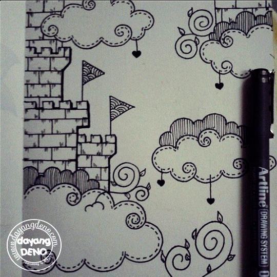 600 Gambar Awan Untuk Doodle  Terbaru