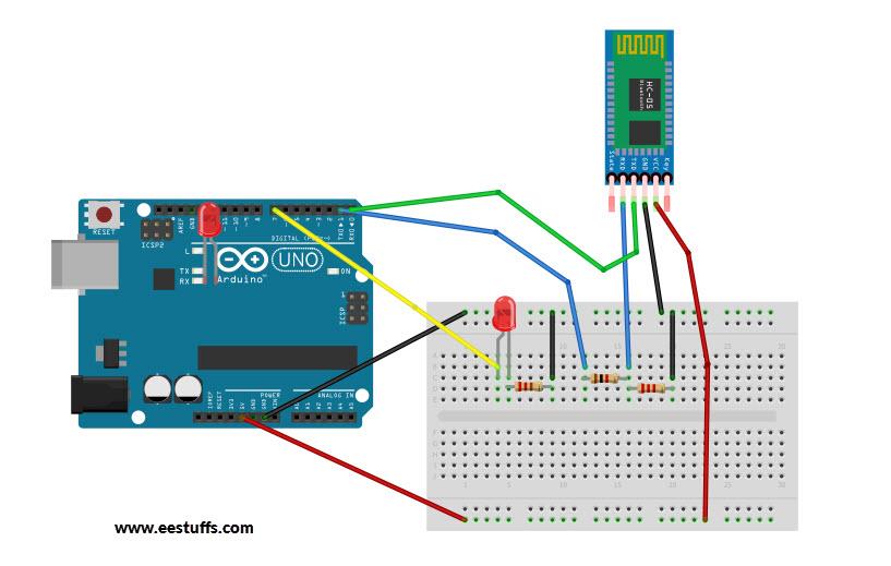 Send message to Arduino using Bluetooth Module HC-05