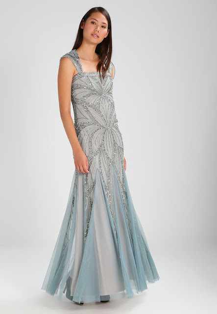 Frock and Frill - Bradi Embellished Sequin Maxi  | Outfit matrimonio invernale