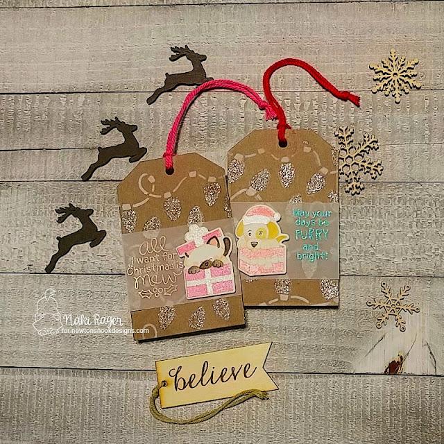 Newton's nook Designs Purrfect Present + Puppy Present Sets - Naki Rager