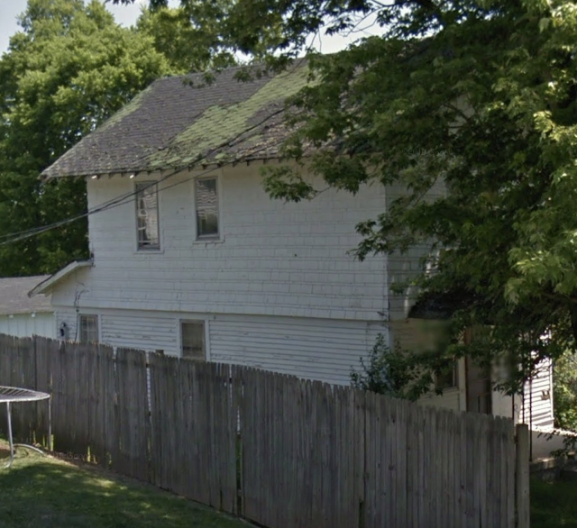 pre-renovation view on Google streetview of left side of Sears Norwood model • 24 Massie Avenue, Paris, Kentucky