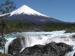Saltos del Petrohue Waterfalls, Southern Chile