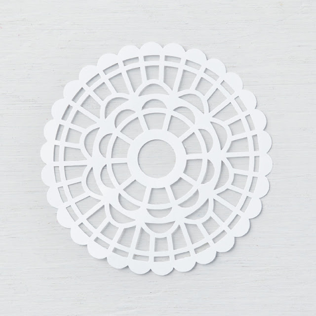 Pearlized Doilies  - Stampin  Up