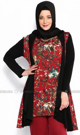 Kumpulan Model Baju Batik Muslim Big Size Terbaru