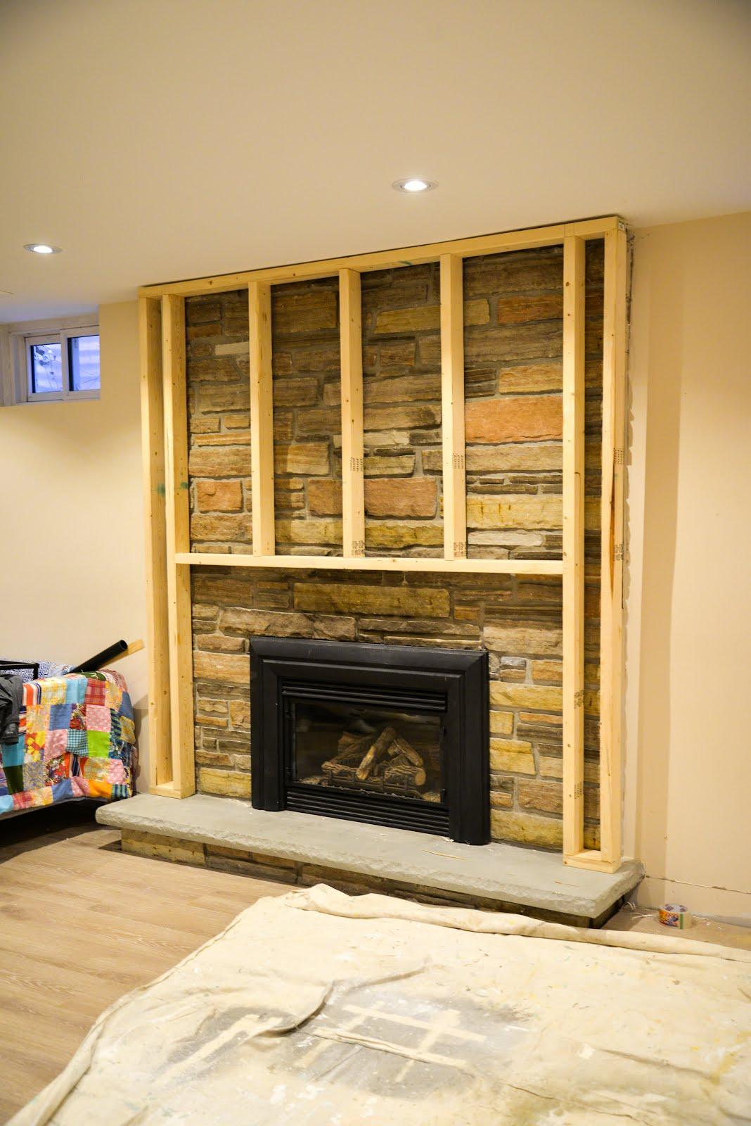 One Room Challenge Week 3: Framing Around An Old Fireplace - Rambling Renovators