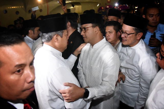 Adhyaksa Dault Khawatirkan Kondisi SBY Sepeninggal Bu Ani