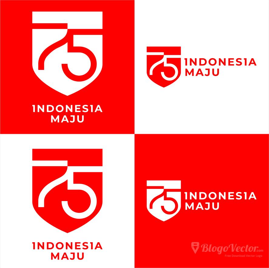 Logo HUT RI Ke-75 vector (.cdr) - BlogoVector