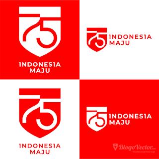 Logo HUT RI Ke-75 Logo vector (.cdr)