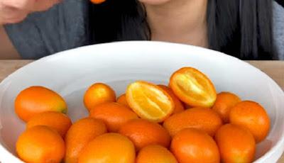 Jeruk kumquat.