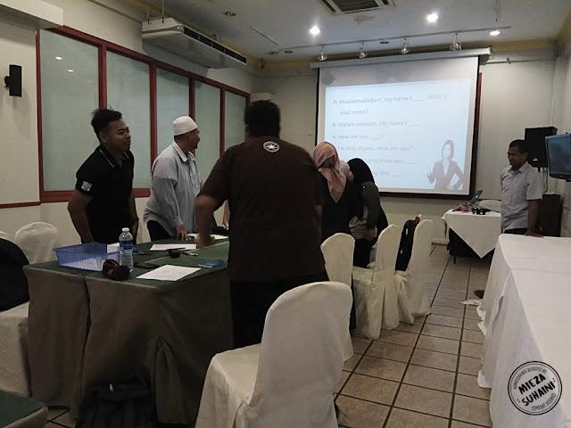Halal Crew di Bangi Golf Resort