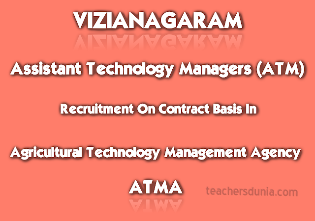 Assistant-Technology-Managers-In-ATMA-Vizianagaram