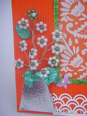 Cards Crafts Kids Projects Beaded Flowers Tutorial