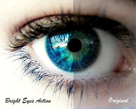 PHOTOARTNDH: Photoshop Action - Bright Eyesby itsreality