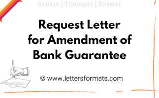 letter format for extension of bank guarantee