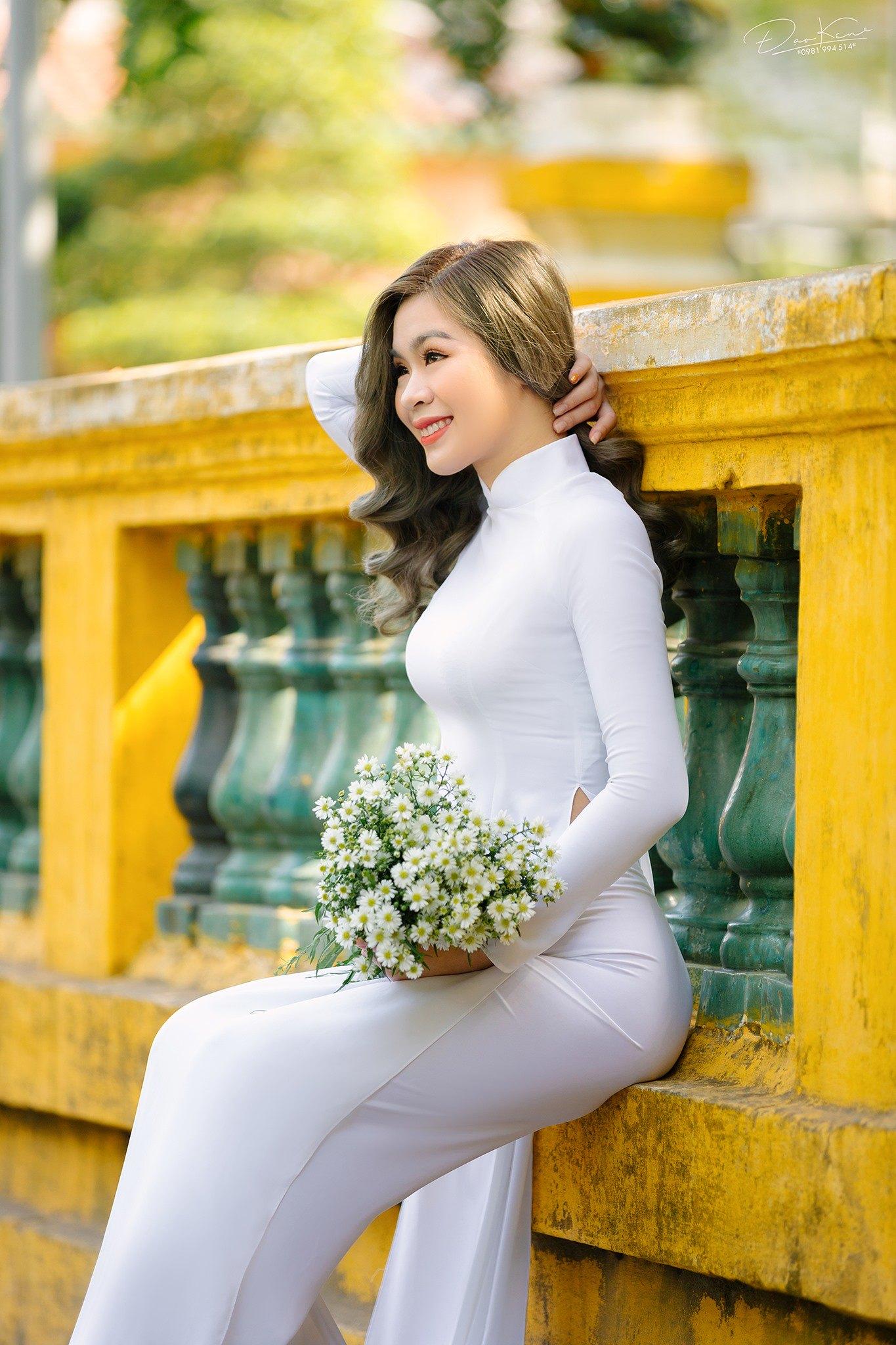 Tuyển tập girl xinh gái đẹp Việt Nam mặc áo dài đẹp mê hồn #57 - 19