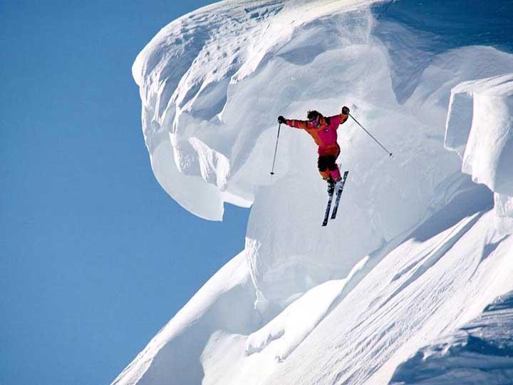 kış sporları resimleri