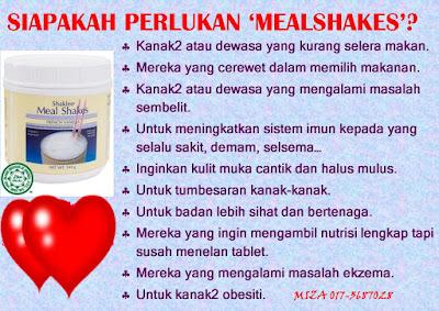 Cara Makan Meal Shakes Shaklee