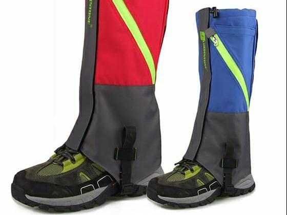 Gaiters atau pelindung kaki