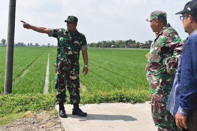 Jelang TMMD, Pasiter Kodim 0716 Demak Tinjau Lokasi Desa Mangunan Lor