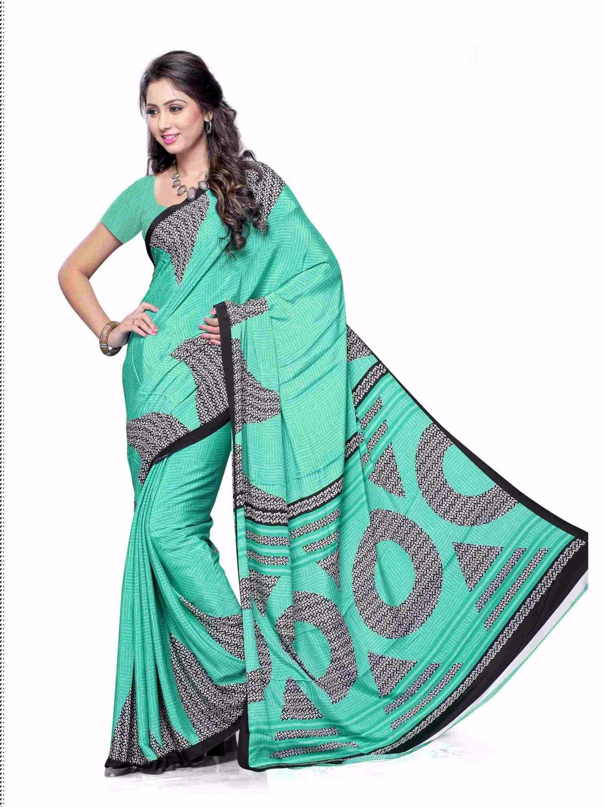 Mohini Vol 4 – Latest Designer Printed Crape Saree