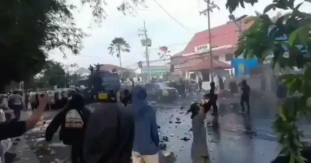 Ratusan Pemuda Diringkus Polisi, Usai Rusuh Menolak PPKM Darurat di Kota Pasuruan