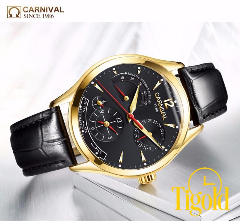 đồng hồ carnival cho nam uy tín