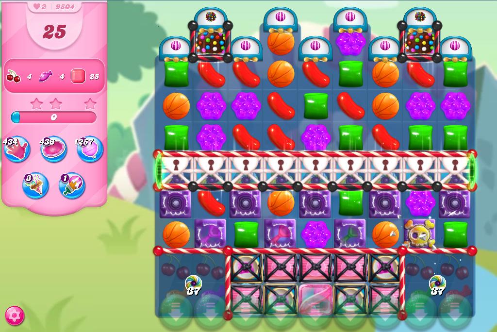Candy Crush Saga level 9804