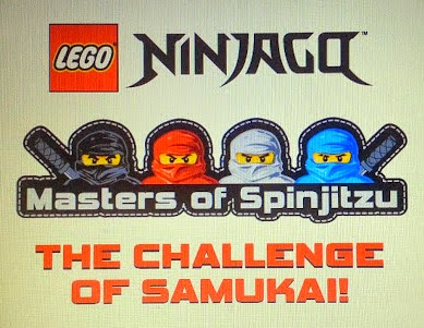 LEGO Ninjago Graphic Novels from Titan Publishing