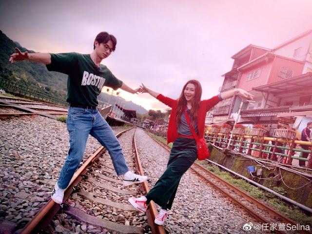 Selina Jen Derek Chang couple