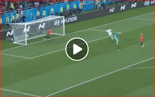 شاهد اهداف المنتخب المغربي في مرمى المنخب الاسباني بمونديال روسيا