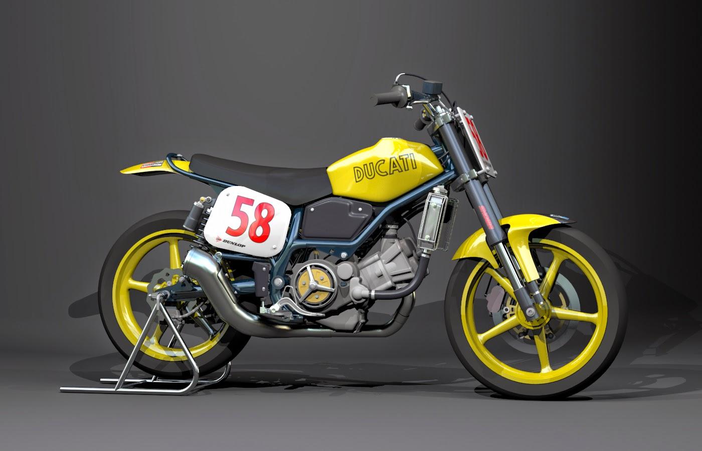 Racing Caf    Racing Concepts  Ducati Scrambler RT