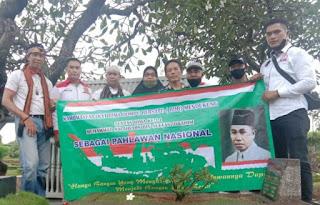 Komunitas Bima Dompu Bersatu Jabodetabek Ziarah Makam Calon Pahlawan Nasional